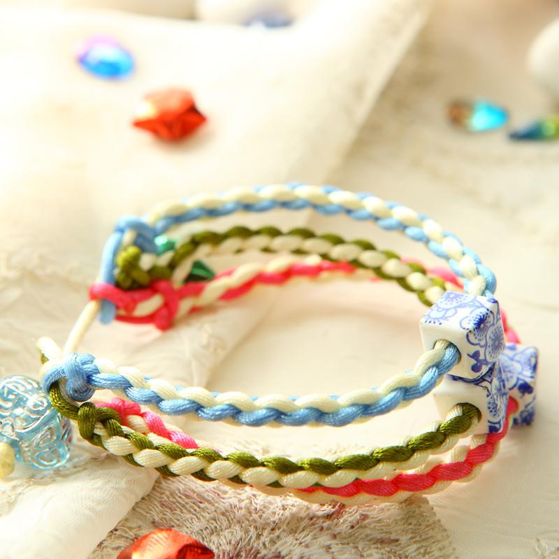 【共3本】手链编织绳结红绳 手链 手工编制教程书 结绳中国风手绳红绳