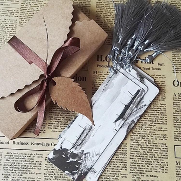 古风书签 古典中国风精美流苏穗子 送老师同学友人创意礼品教师节礼物
