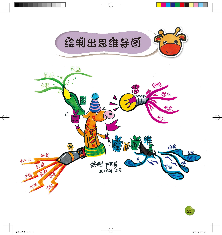 正版 儿童思维导图训练手册6册 亲子益智游戏幼儿左右脑开发 青少年逻