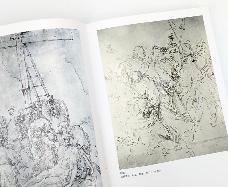 大师经典素描图典全集4册 创作手稿 动物风景 人体 头像肖像素描零