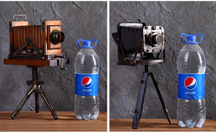 复古照相机模型摄影道具摆件创意家居客厅书房装饰品工艺品