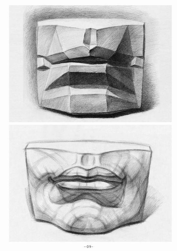 石膏步骤清晰图